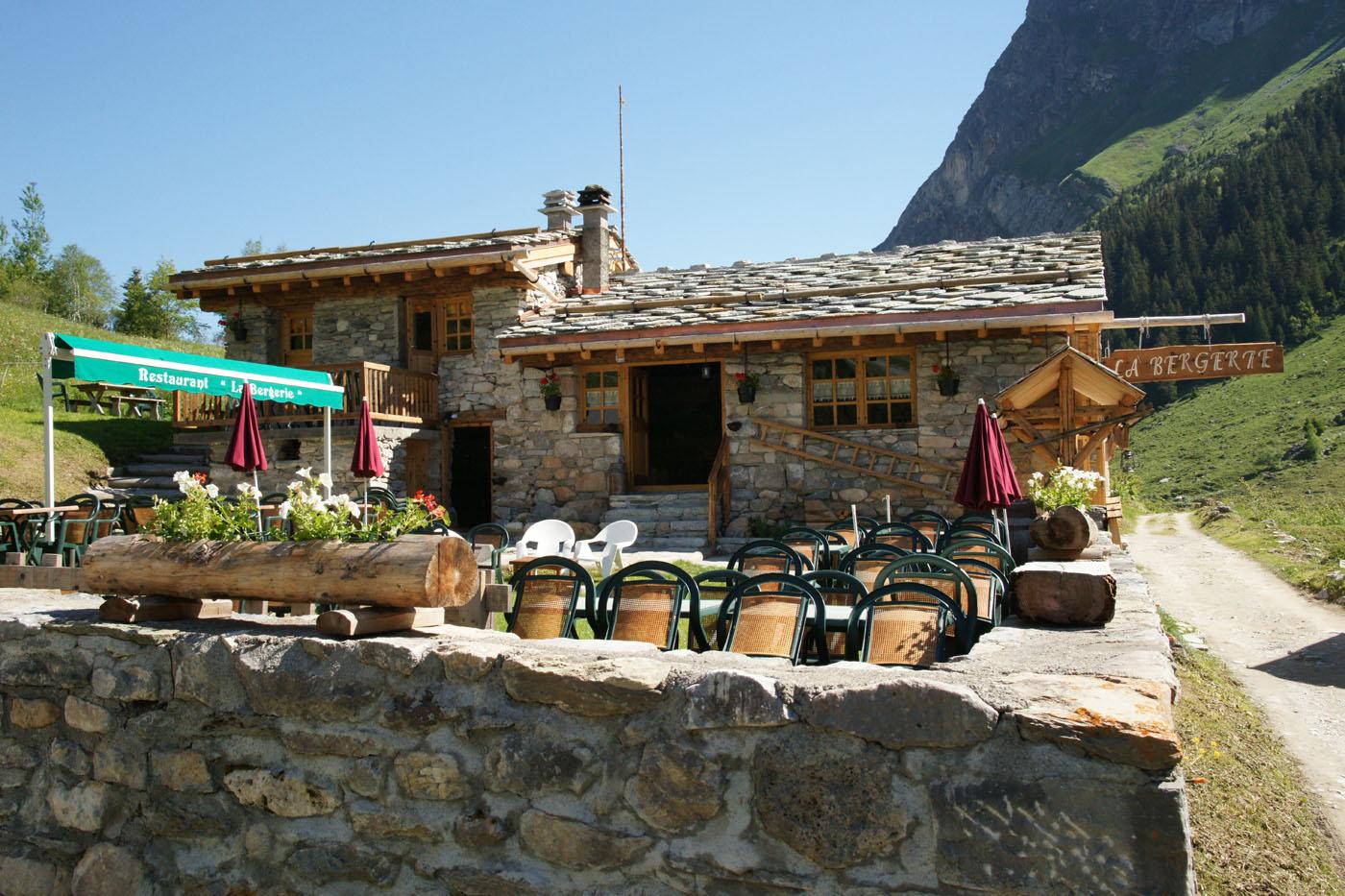 Restaurant la bergerie aux Prioux à Pralognan